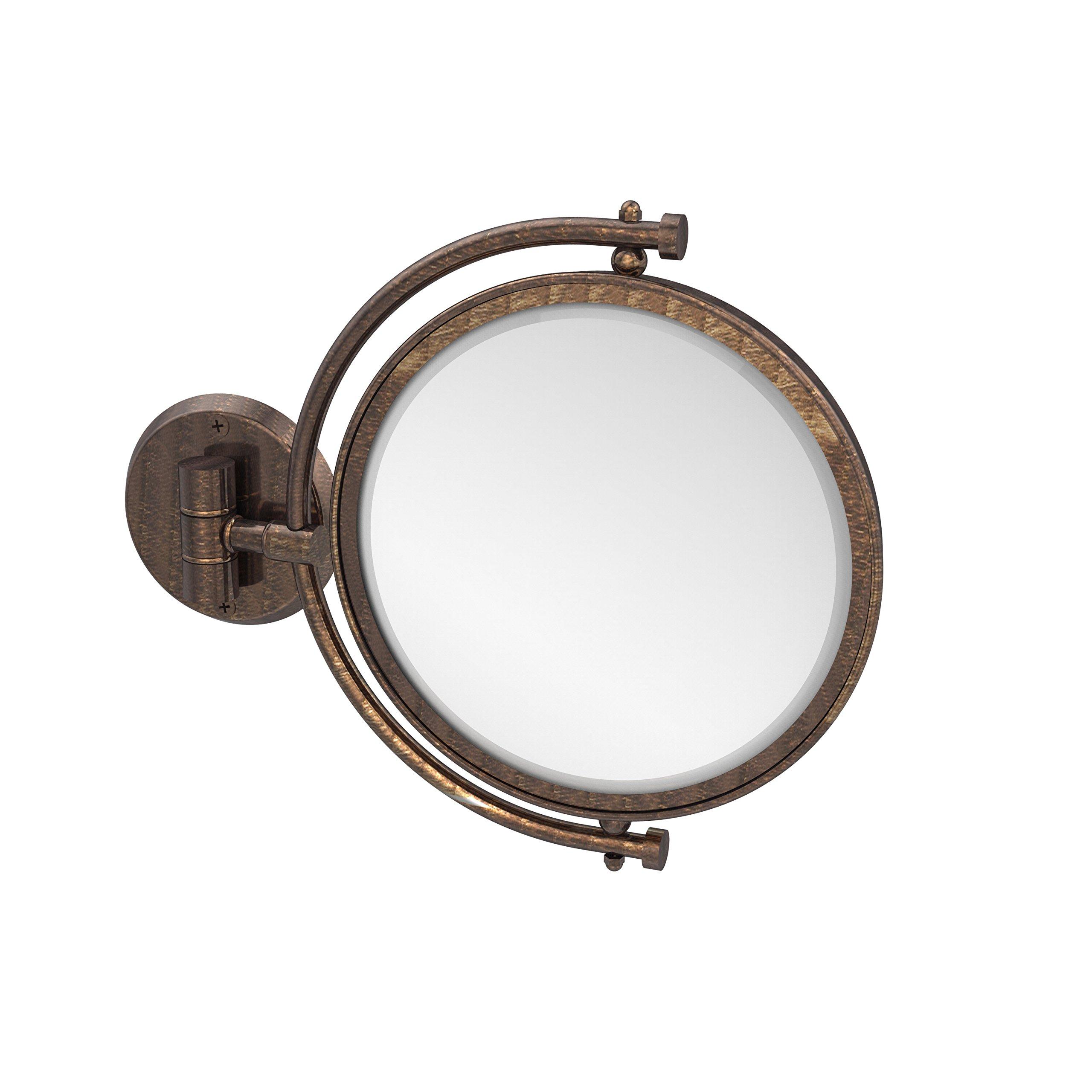Allied Brass 8'' Mirror 4x Mag Extends 7'' Venetian Bronze