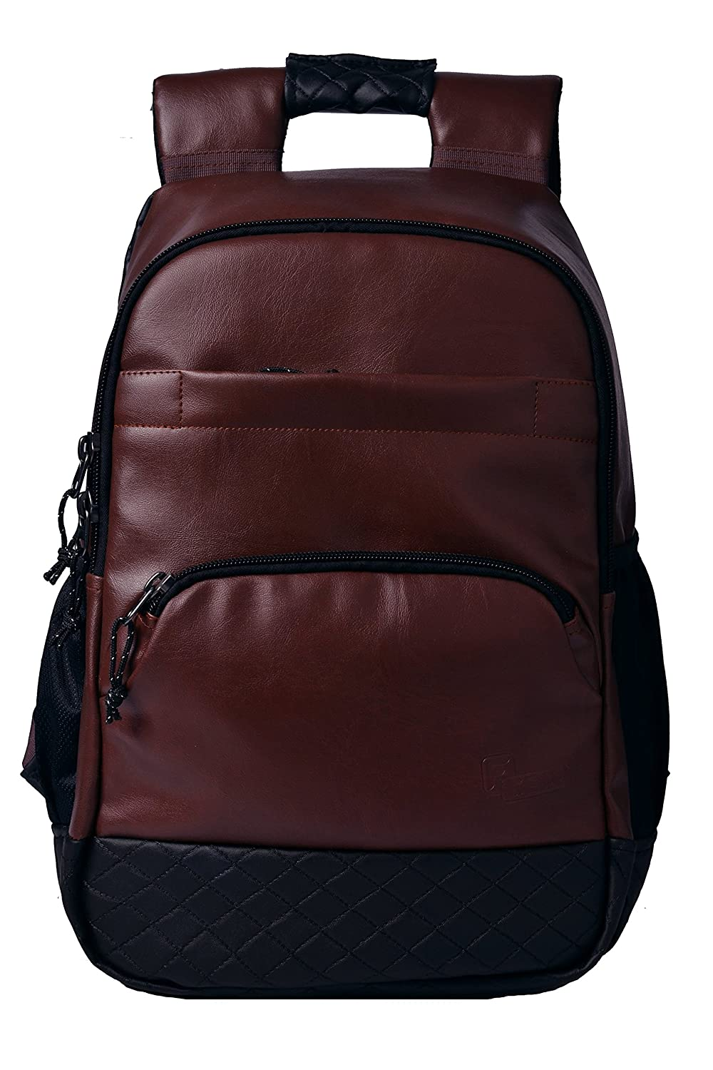 F Gear Luxur Anti Theft25 Ltrs Brown Laptop Backpack (2743)