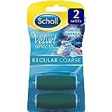 Scholl Velvet Smooth Pedi Refill, Regular Coarse