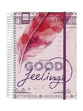 Finocam - Agenda 2019-2020 1 día página español Secundaria Feelings