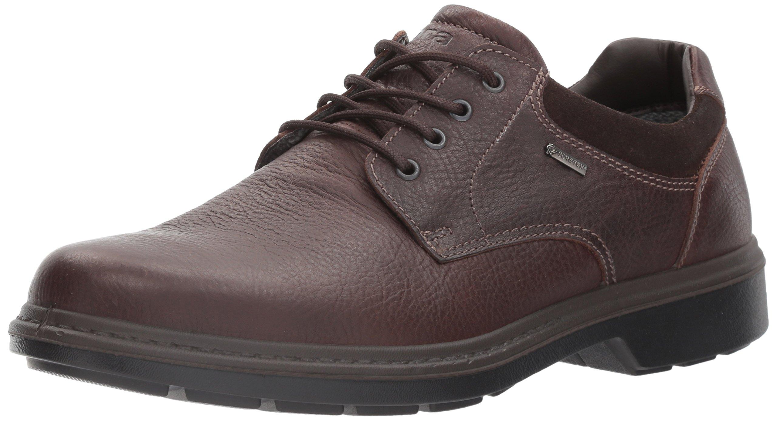 ara Men's Jason Oxford, Coffee Leather, 46 W EU (12 US)