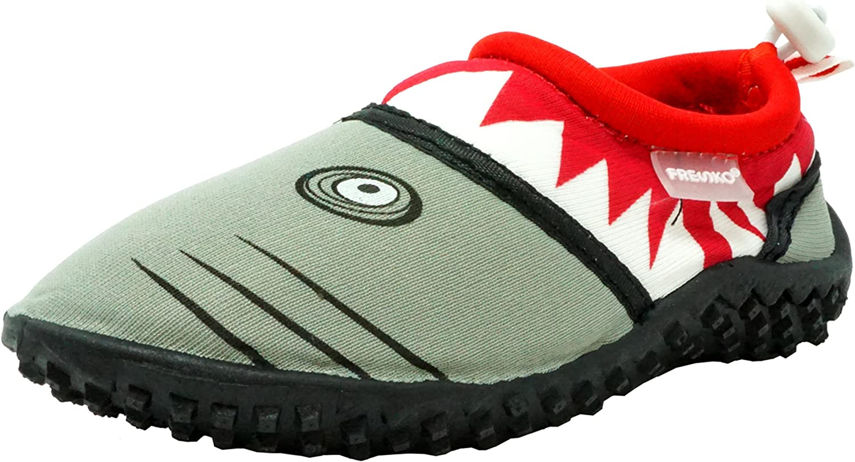Fresko Kids Shark Aqua Slip-On Beach Water Shoes