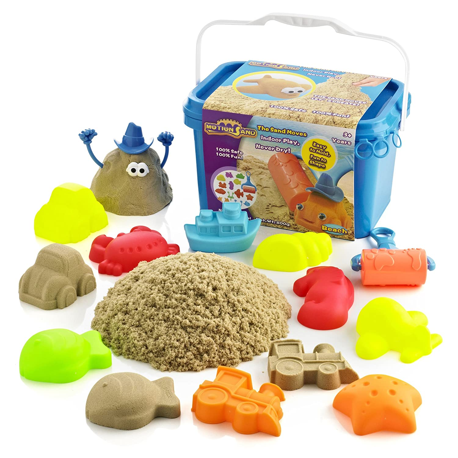 Motion Sand Beach Bucket Playset Amazon Toys & Games