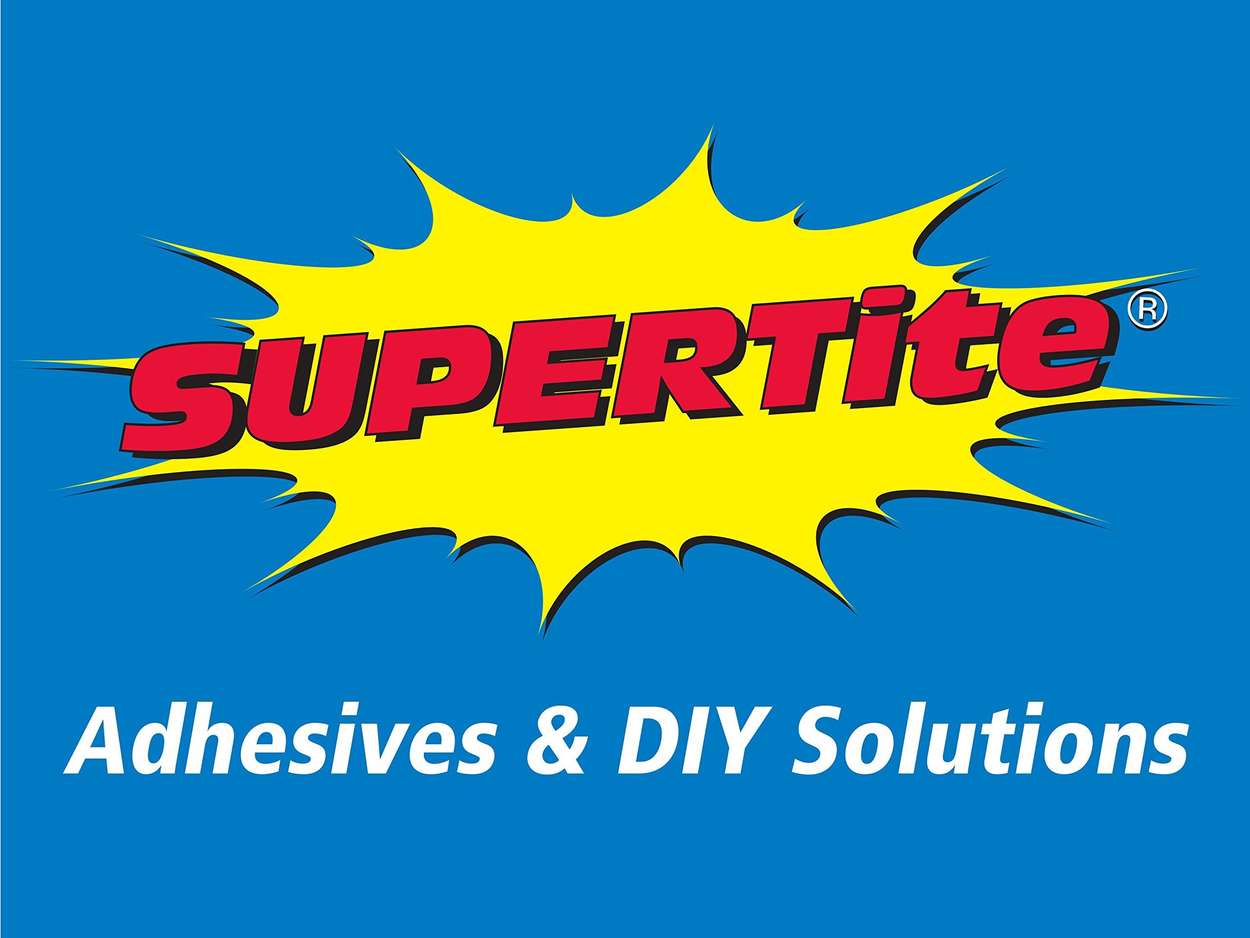 Supertite Instant Super Glue- Precision, 10g/0.35oz, Precision Nozzle & Pin Cap (4)