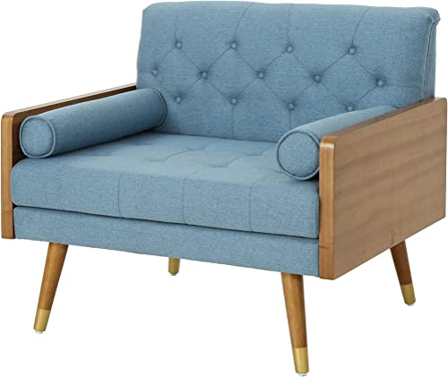 Reviewed: Christopher Knight Home 305749 Greta Mid Century Modern Fabric Club Chair