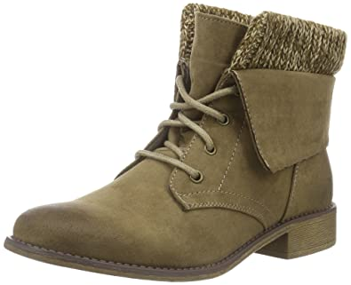 LU Ariana, Bottines Non Doublées Femme - Gris (Taupe), 37Hailys