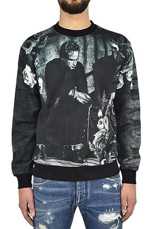 Dolce   Gabbana Felpa Jailed Brando Uomo - Colore  Multicolore - Taglia  46  - bc3886eeaeb
