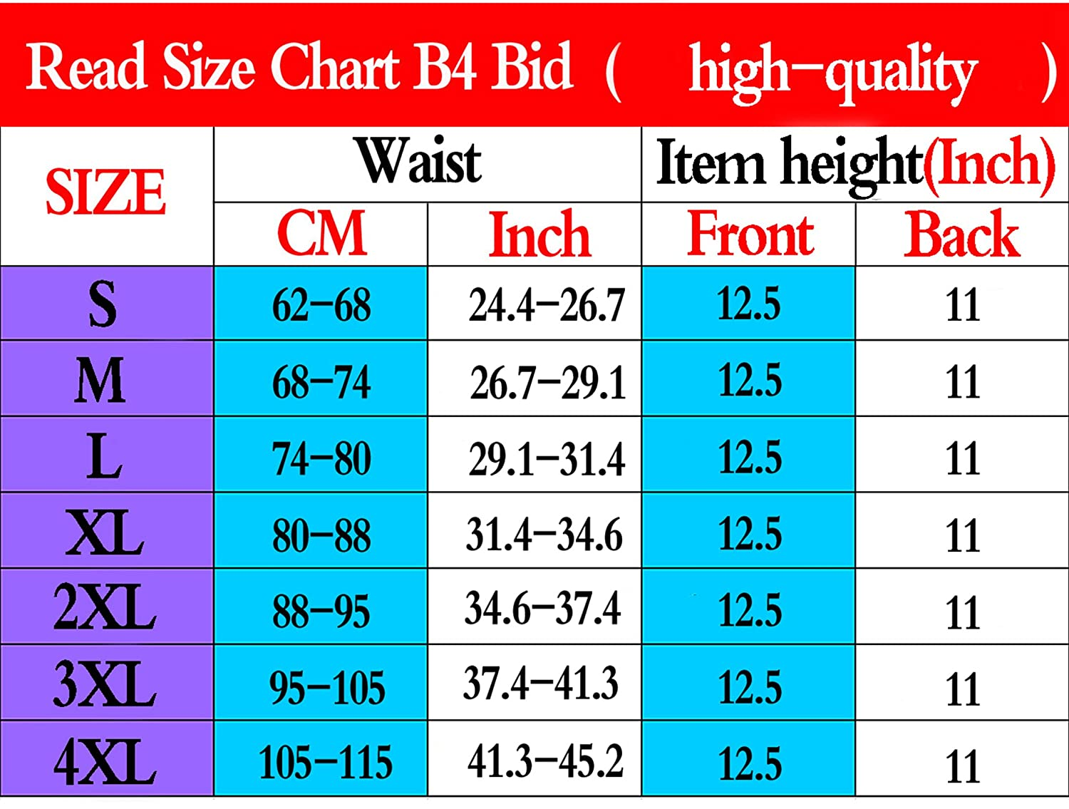 BRABIC Waist Trainer Corset Body Shaper For Weight Lose Hourglass