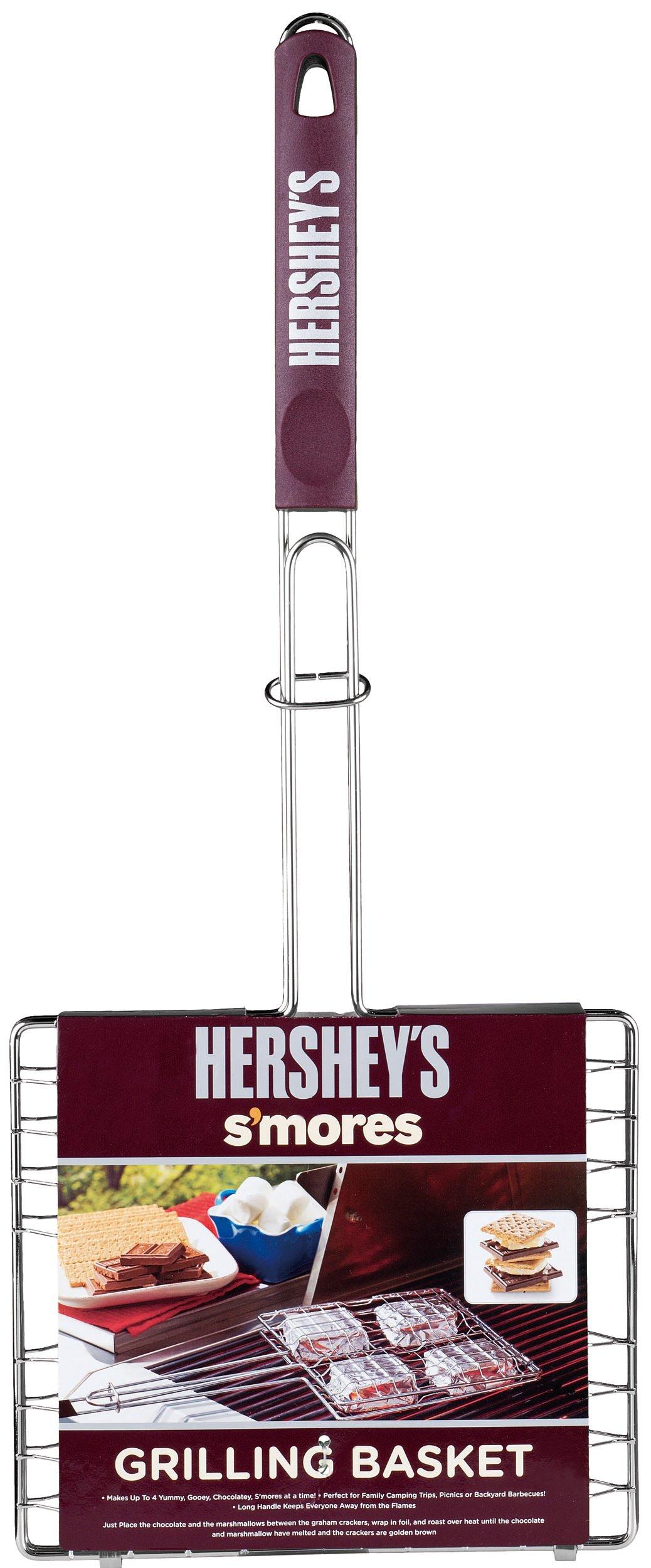 Hershey's 01200HSY S'mores Polypropylene Handle Grilling Basket