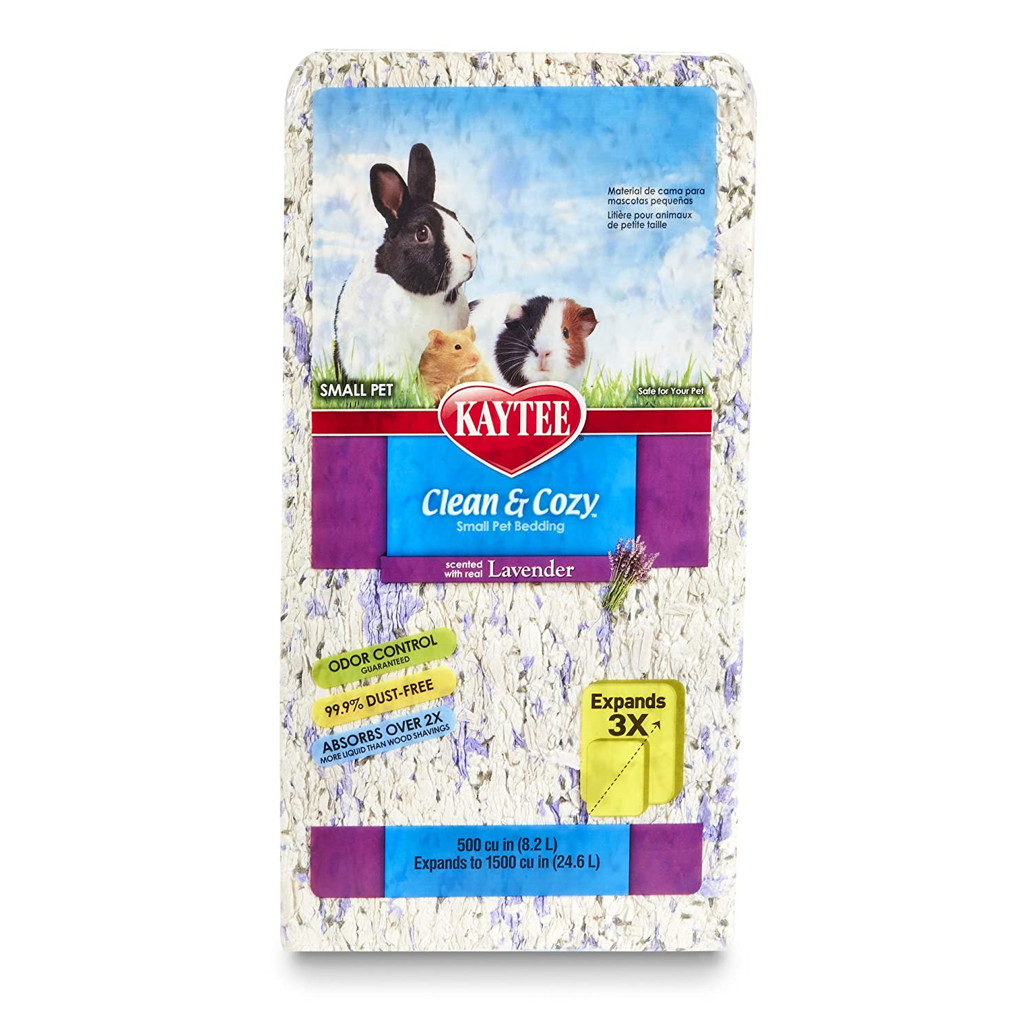 Kaytee Clean & Cozy Scented Small Animal Bedding 1000 Cubic Inch 100509427