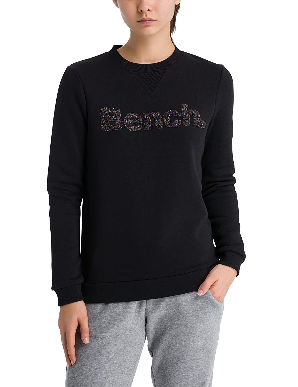 TALLA S. Bench Logo Crew Neck Sudadera para Mujer