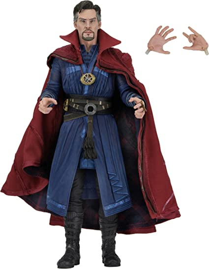 Doctor Strange- Figura, Color Azul, Talla única (NECA 61482 ...