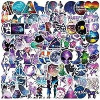 Galaxy Estilo Pegatinas, 100 PCS Impermeables Pegatinas Calcomanías Vinilo Adhesivos Graffiti Sticker Pack para Equipaje…