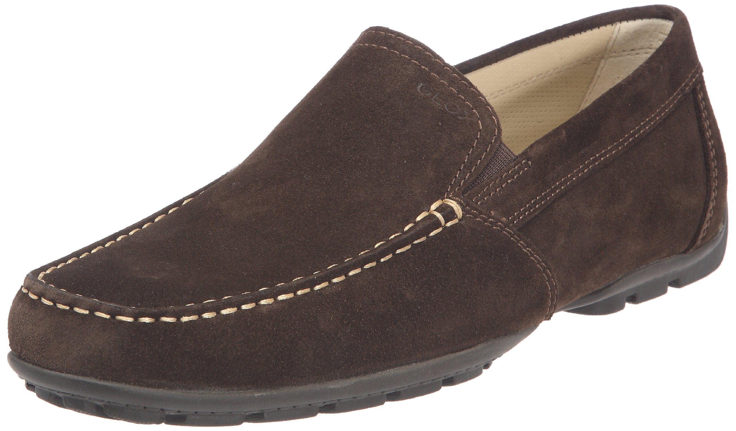 Geox Men's U Monet 18 Penny Loafer,Coffee,43 EU/10 M US