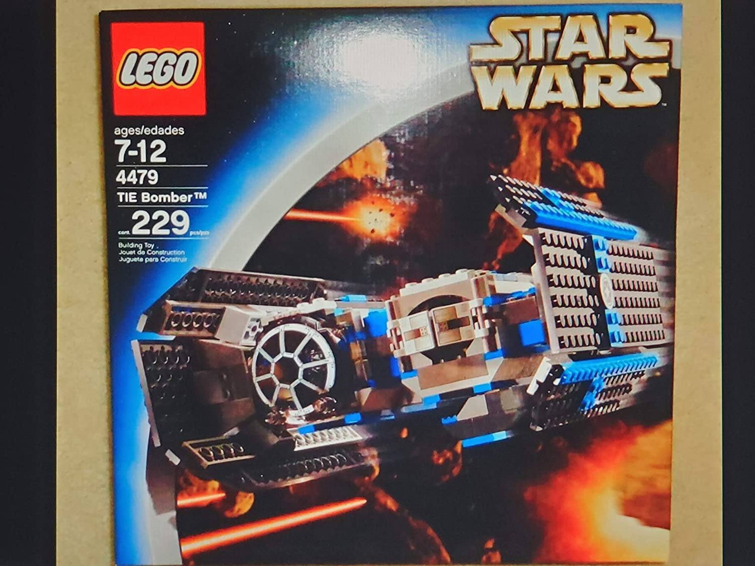 Lego Tie Bomber Star Wars 4479 New in Sealed Box.