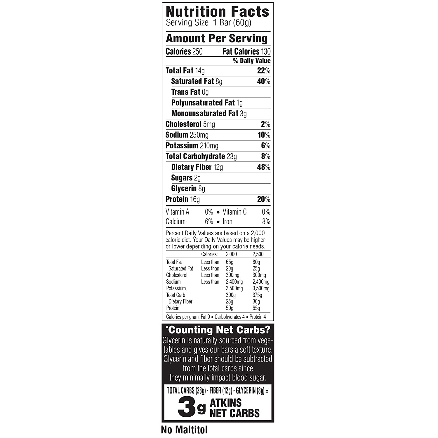 Atkins Protein-Rich Meal Bar, Chocolate Peanut Butter, Keto Friendly, 5 Count