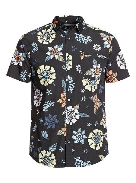 Quiksilver Sunset Floral - Camisa de Manga Corta para Hombre EQYWT03634: Amazon.es: Ropa y accesorios