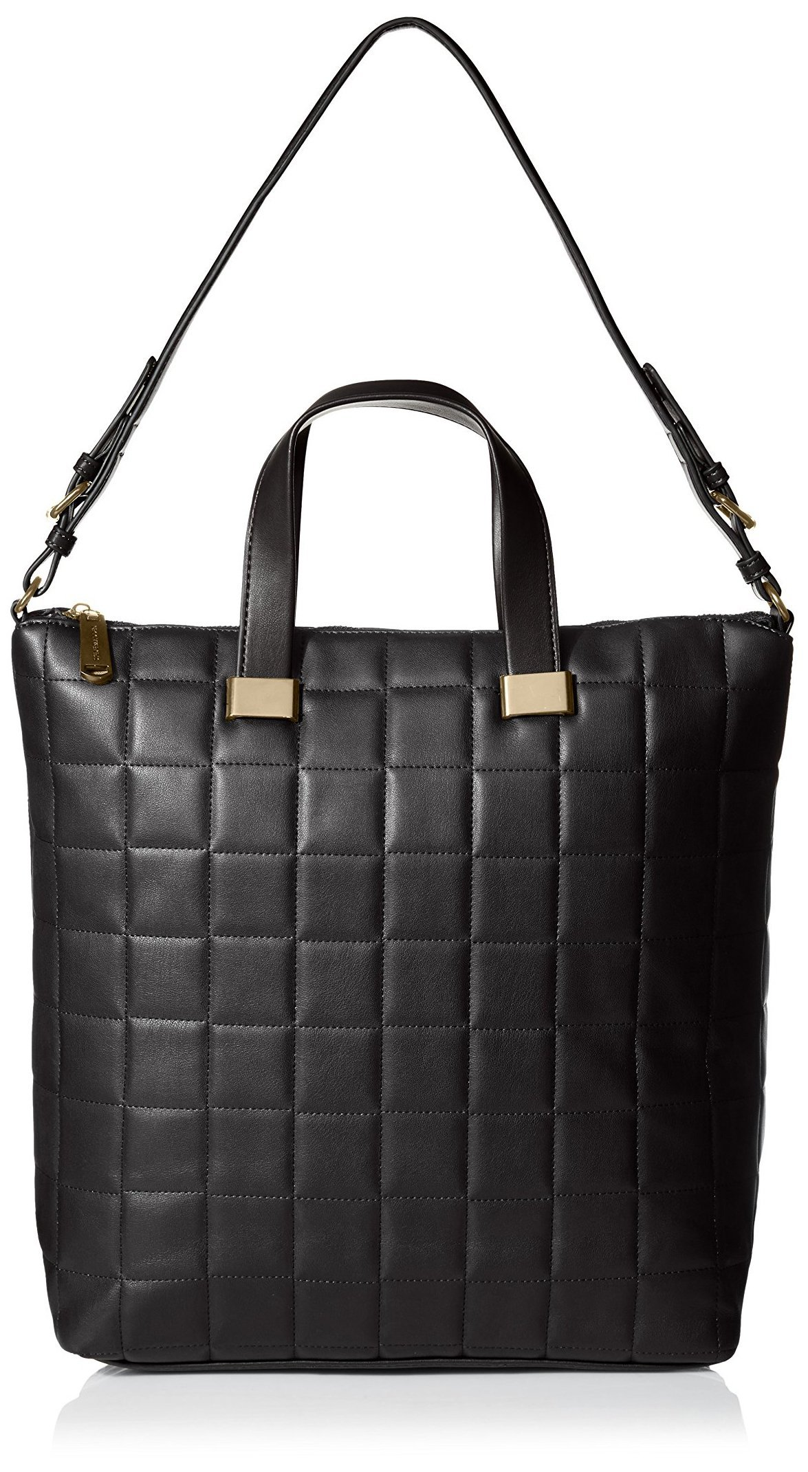 Steve Madden Women's Bree Quilted Tote, Black by Steve Madden