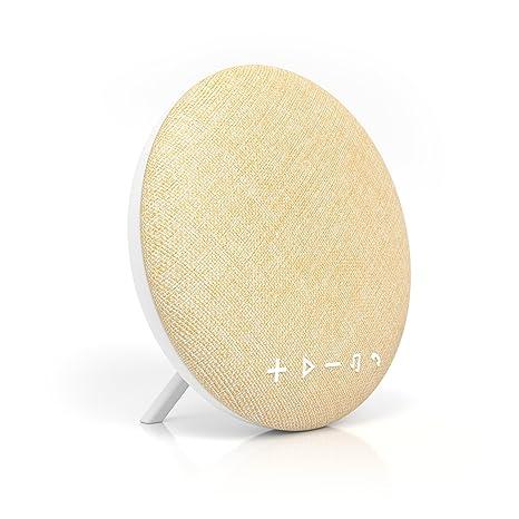 Large Wireless Bluetooth Fabric Speaker Portable Audio & Headphones Sporting Deco Series Speaker By Tzumi