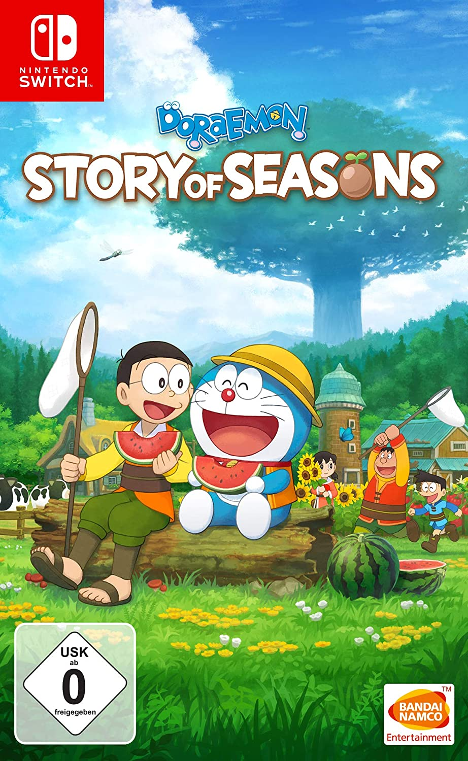Doraemon Story of Seasons - Nintendo Switch [Importación alemana ...