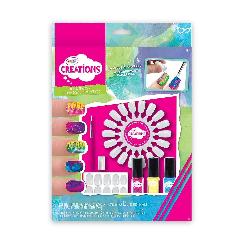 Crayola Creations Nail Marbling Kit, Yo-yos - Amazon Canada