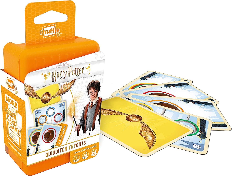 Juego de Cartas Shuffle 100243004 Harry Potter,: Amazon.es: Juguetes y juegos
