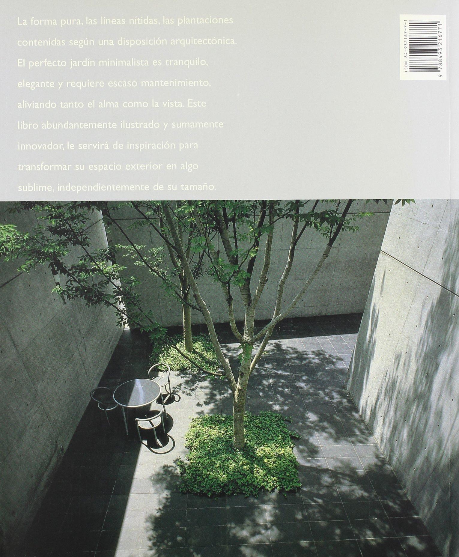 El Jardin Minimalista Spanish Edition 9788493216771 Amazoncom - Jardin-minimalista