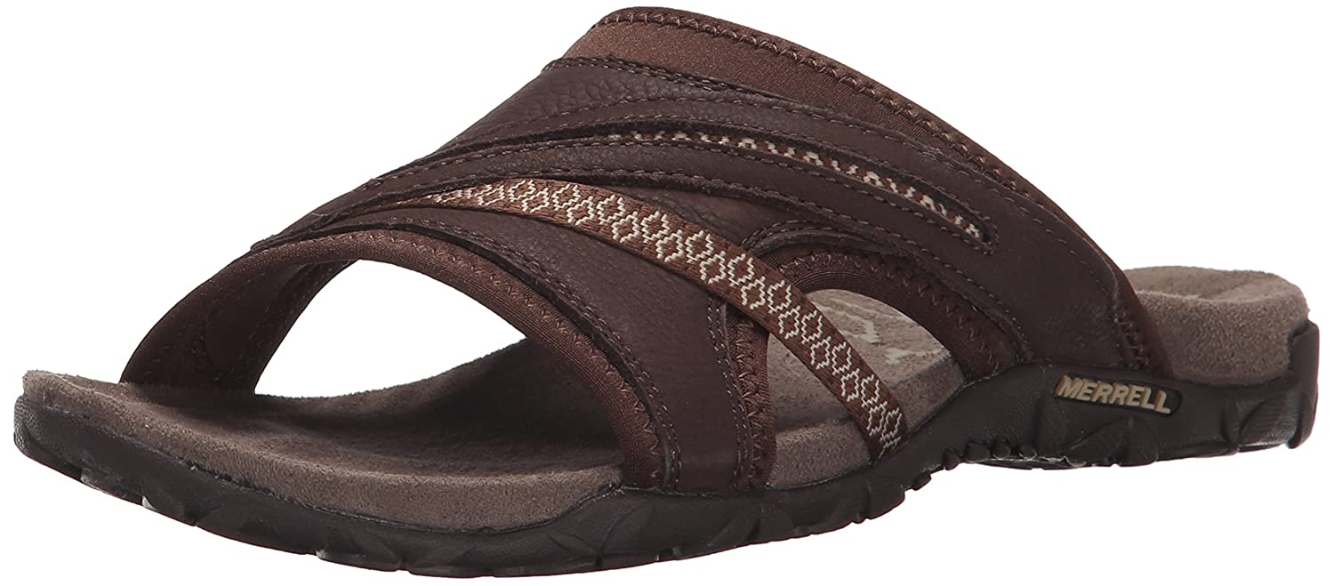 Merrell Women's Terran Slide II Sandal B00YDKG39K 6 B(M) US|Dark Earth