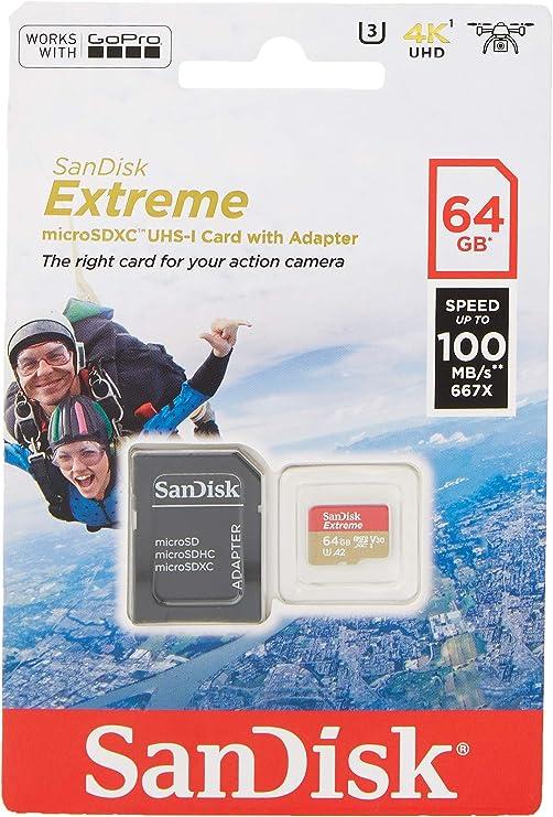 Sandisk Extreme 64gb Microsdxc Speicherkarte Für Computer Zubehör
