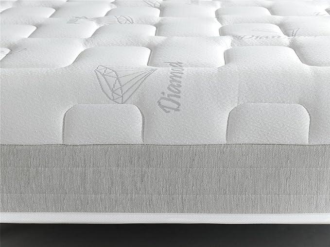 Living Sofa COLCHÓN COLCHONES VISCOELASTICO VISCOELASTICA Diamond Luxury: Amazon.es: Hogar