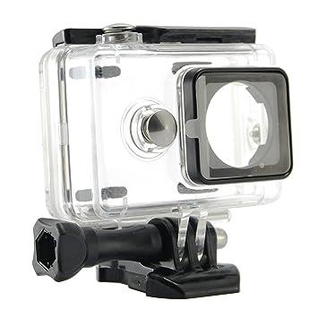 Goliton® - Funda protectora resistente al agua para buceo (40 m) con soporte externo, con carcasa, accesorio para cámaras deportivas Xiaomi Sports, ...