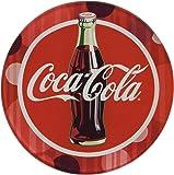 Westland Giftware Glass Coca-Cola Coaster (Set of 4), Multicolor