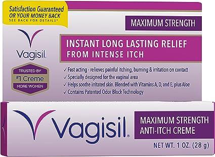Amazon Com Vagisil Maximum Strength Instant Anti Itch
