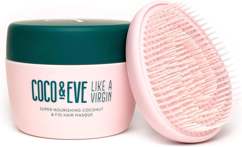 Coco & Eve Like a Virgin Mascarilla Para el Pelo - Tratamiento Acondicionador Superhidratante con Coco e Higos