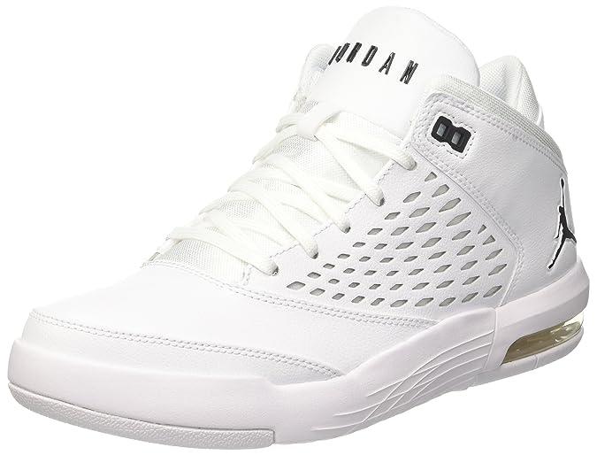 Nike Jordan Flight Origin 4, Zapatillas Para Hombre, Blanco (White/Black 100), 44.5 EU