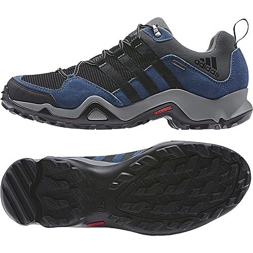 adidas Outdoor Men's Brushwood Mesh Gray Sneaker 10 M OSS9Y9UF