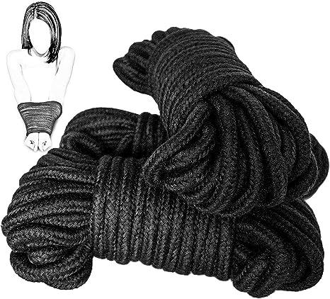 3 coton doux 5 Mètre Long Bondage Ropes