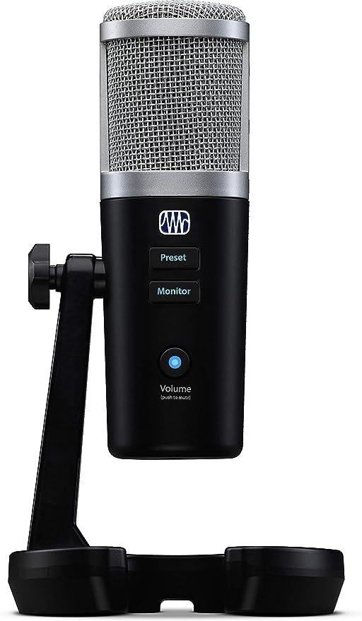 Presonus Revelator Usb Mikrofon Mit Studiolive Sprachverarbeitung Im Inneren Musikinstrumente