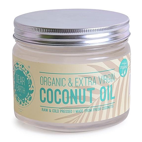 Dear earth organic coconut oil organic extra virgin350ml amazon dear earth organic coconut oil organic extra virgin350ml fandeluxe Epub