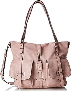 Tamaris Damen Bernadette Shopping Bag Henkeltasche, Grau