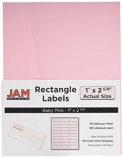 amazon com jam paper mailing address labels small 1 x 2 5 8