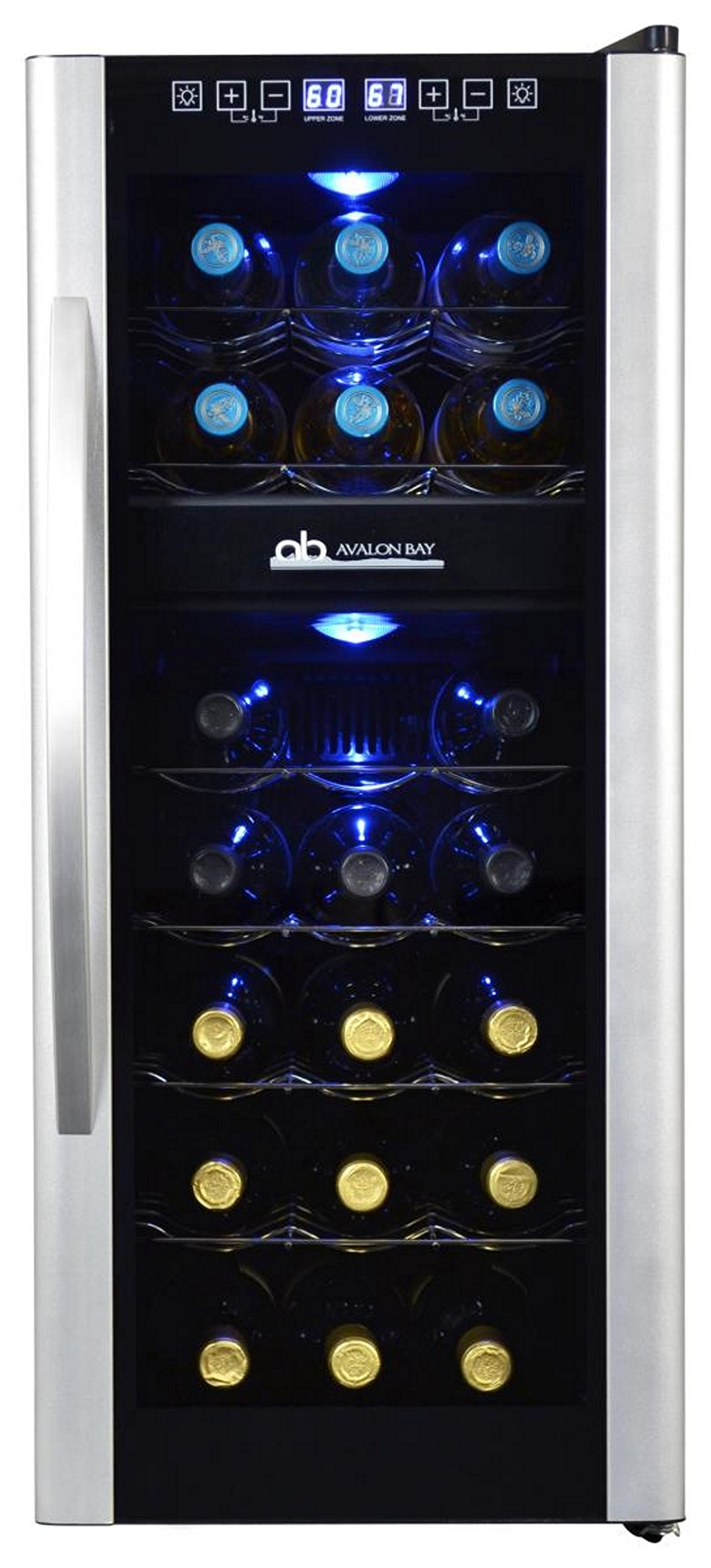 Avalon Bay AB-WINE21DS 21 Bottle Dual Zone Wine Cooler by Avalon Bay (Image #4)