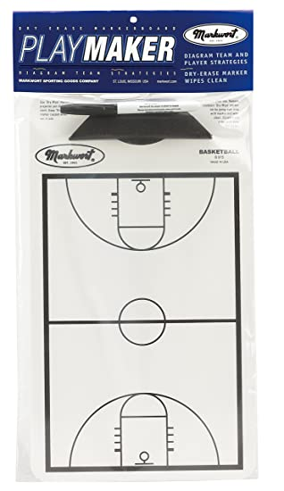 Amazon.com: Markwort Baloncesto Playmaker Markerboard ...