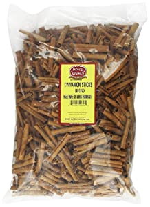 Spicy World Cinnamon Sticks 2 Pounds (32oz) - 100 to 150 Sticks - Strong Aroma, Perfect for Baking, Cooking & Beverages - 3+ Inches Length - Cassia Cinnamon from Vietnam