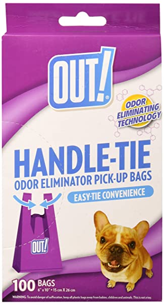 Amazon.com: Out. easy-tie Mango Pet bolsas de basura, bolsas ...