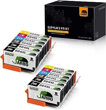 Amazon.com: JARBO HP 564XL cartucho de tinta de repuesto ...