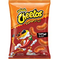 Cheetos Curls Flaming Hot, 90 gm