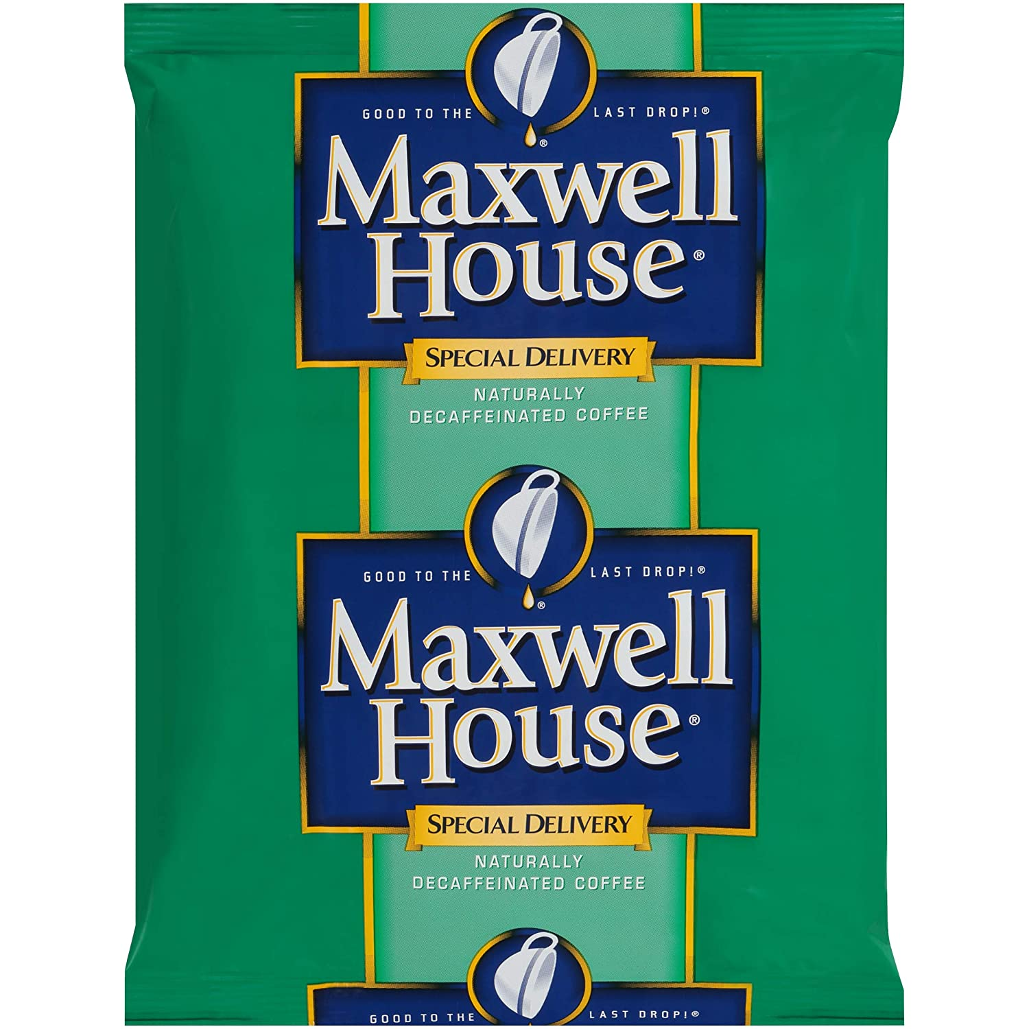 Maxwell House Special Delivery Decaf Coffee (1.3oz Bags, Pack of 42)