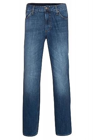 Mustang Oklahoma Hose Herren Jeans Denim Blau 9111 5137 63  Amazon.de   Bekleidung 7c980f9795