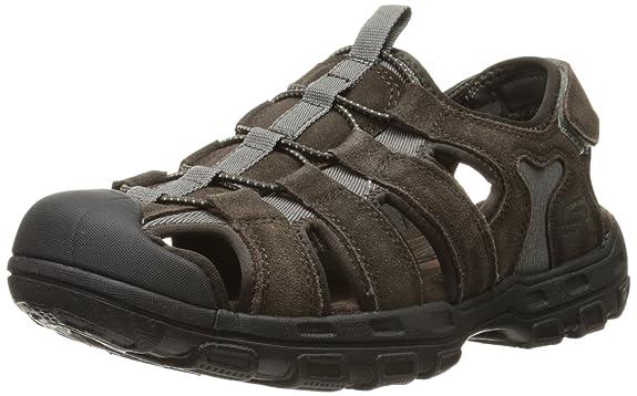 013e13edf7e Skechers USA Men s Selmo Fisherman Sandal Thong Sandals from amazon in  Footwear